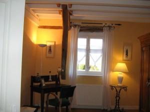La Mirabelle - chambre jaune