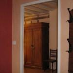 La Mirabelle - accès chambre jaune