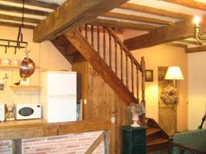 La Mirabelle -Escalier