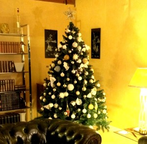 Sapin du salon